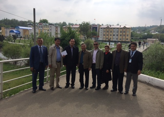 Delegation from second hospital of Xinjiang university China visited Ak-bura campus of International medical faculty Osh state university