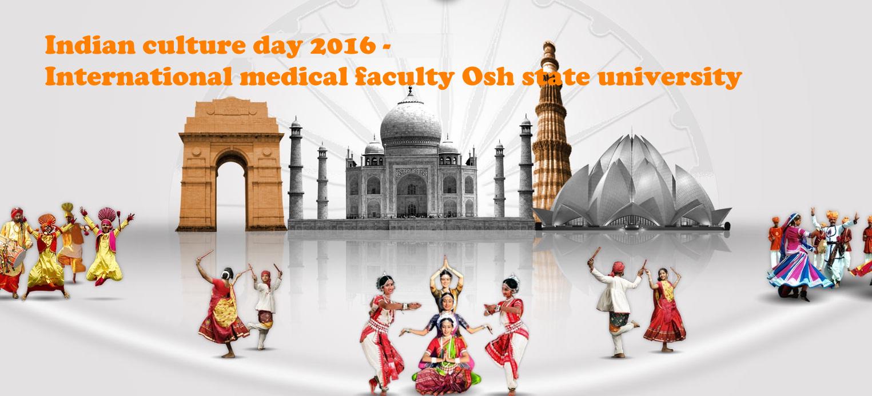 Indian culture festival 2016 - Osh State University