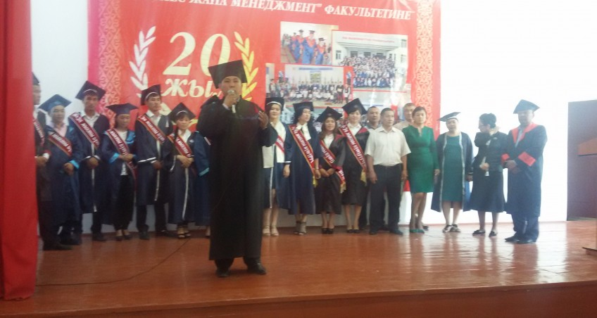 Memorial Day on May 28 at the Faculty of M & Graduate of the University took place