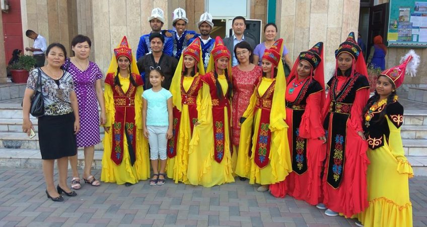 Foreign students took an active part in the events dedicated to the Day of the Kyrgyz language