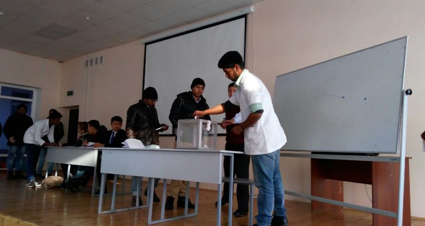 Osh International conducted the election of the chairman of the Youth Committee of the Faculty of Medicine