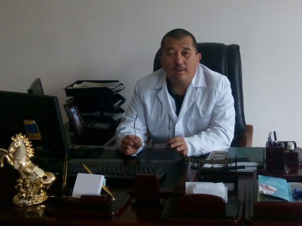 Dean of the International medical faculty of OshGU