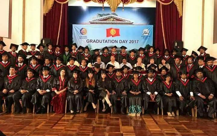 Congratulations to young doctors, International graduates of International Medical Faculty, Osh State University