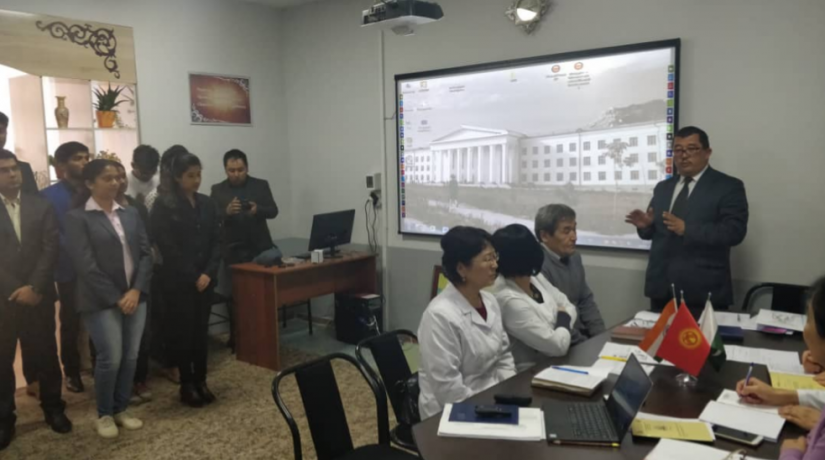 The regular meeting of the International Scientific Council of the Faculty of Medicine was held on April 16