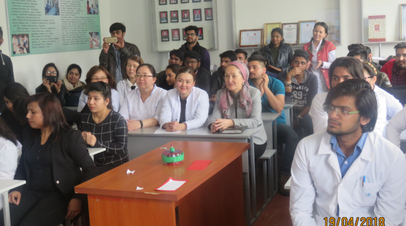 "In the International Medical Faculty, the Department of ""Clinical Disciplines 1"" held a scientific-student conference"