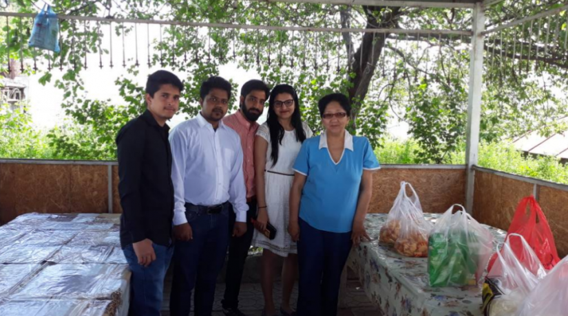 "Students of Osh State University International Medical Faculty visited orphanage ""Altyn uya"""