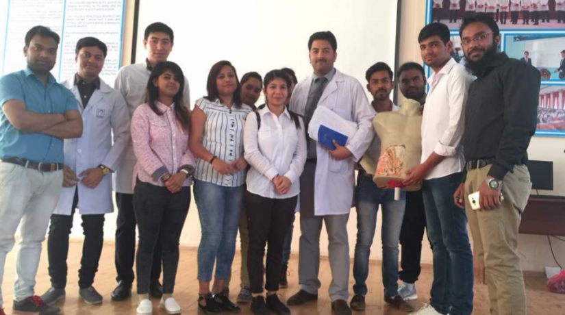 """Competition among the 4th year students on the subject of """"facultative surgery"""" on the topic """"surgical diseases"""""""