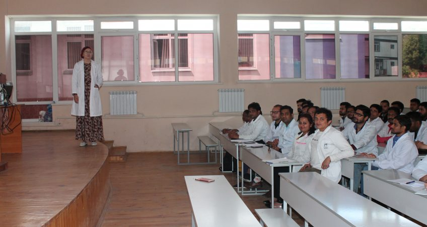 May 15th, on International Medical Faculty OshSU the review lecture held for students of 6th year