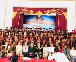 Convocation 2018 for International Medical Faculty Osh State University