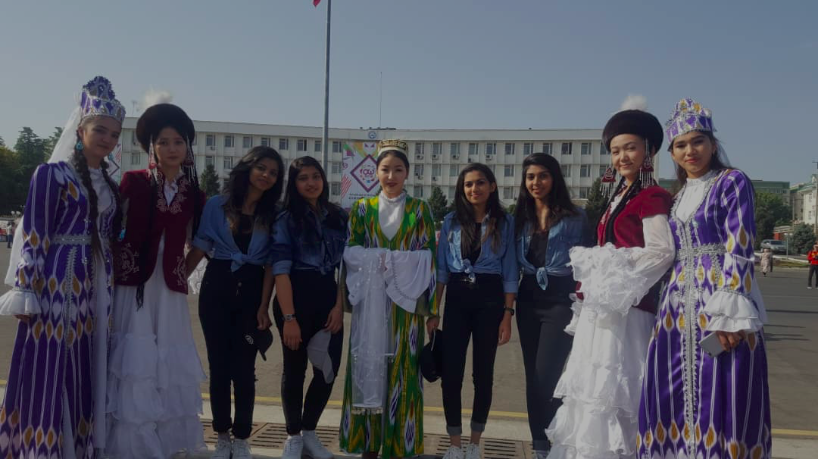 IMF students celebrated the 3018th anniversary of the city Osh