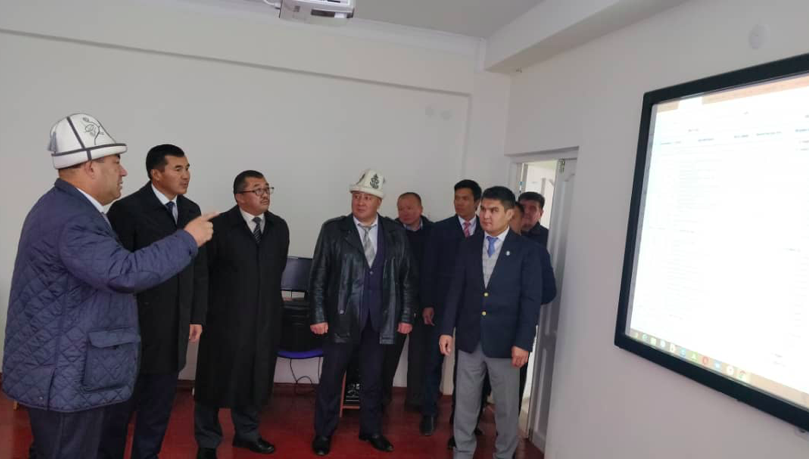 The authorized representative of the Osh region Jılkıbaev UK International Medical Faculty
