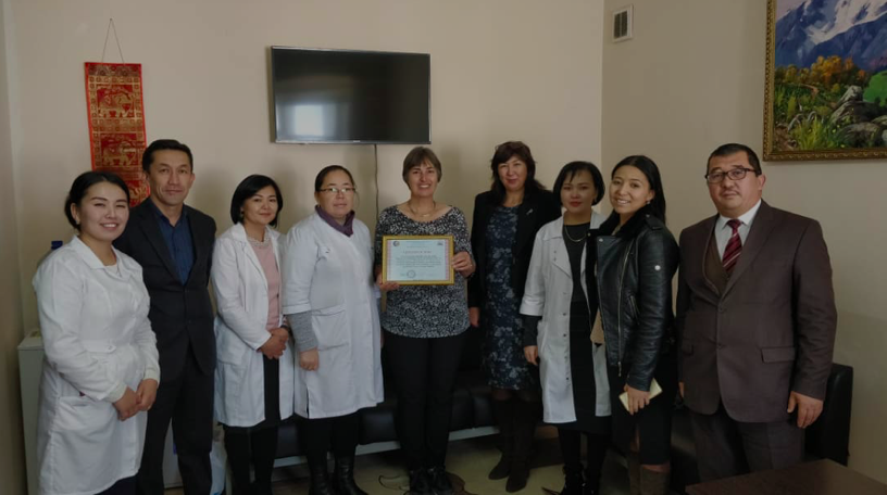 """Guest lecturer from the Netherlands at the Department of """"Clinical Disciplines 2"""" MMF"""