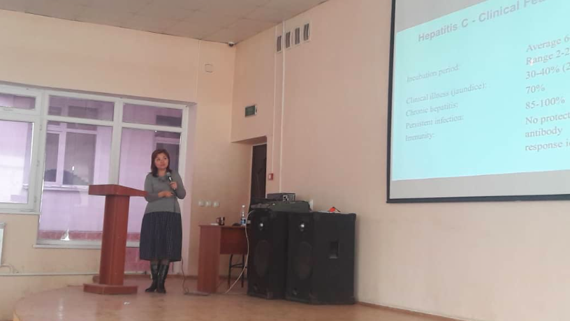 Guest lecturer from Bishkek