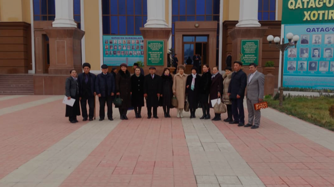 Cooperation with the Andijan State University continues