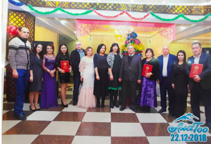 "Teachers of the Department of SHD were awarded "" Honorary Diploma"" of the OshSU"