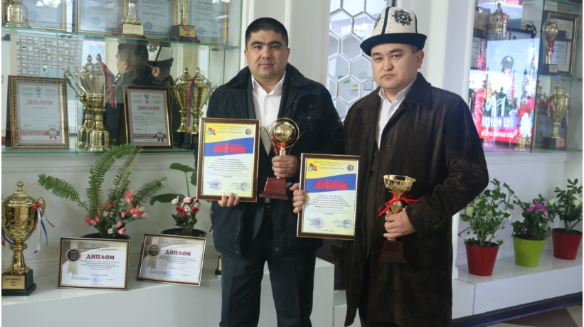 """The participation of teachers of the department """"Clinical Disciplines 2"""" at the inter-faculty Olympics of Osh State University among faculty members under the motto """"To love sport is healthy to be!"""""""