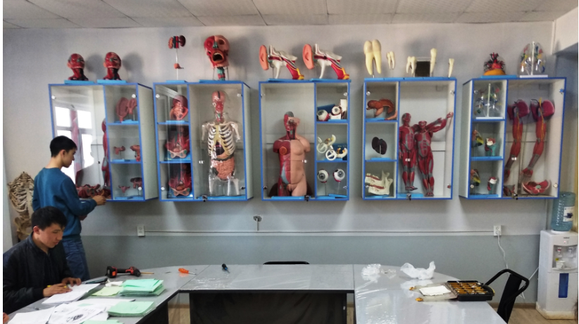 «ANATOMICUM» school-museum filled with drugs, laboratory complex