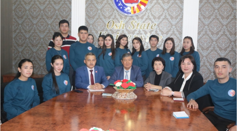 16 students and 2 teachers of Osh State University went to the Czech Republic
