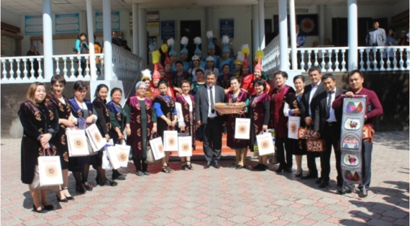 Osh State University was visited by the delegation of the Andijan Medical College
