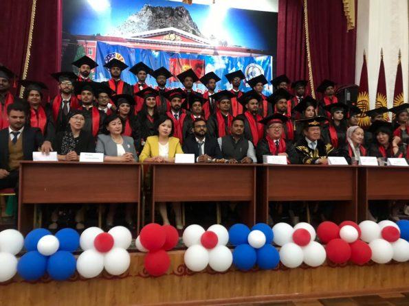 Graduation Ceremony for Graduates of the International Medical Faculty