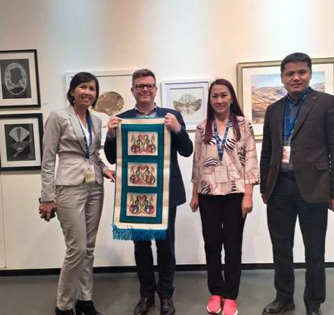 Scientists from Kyrgyzstan New Zealand scientific conference is No. 1