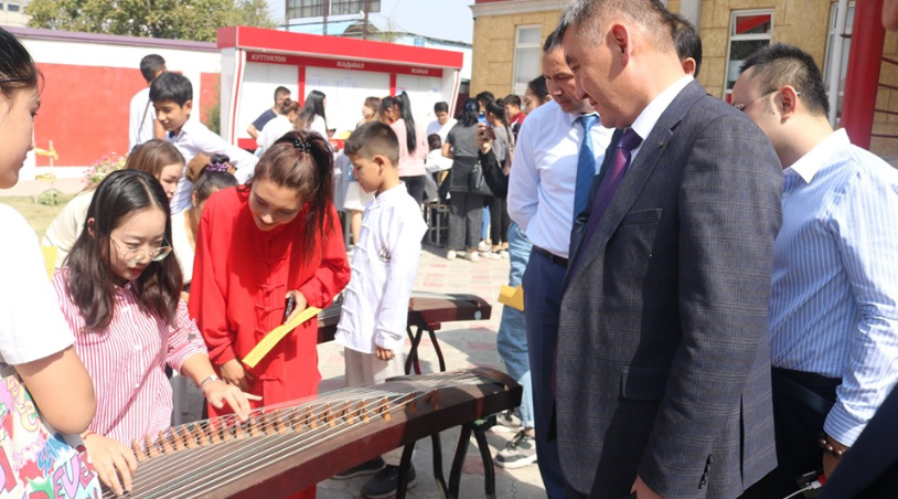 "NEWS  Kyrgyz-Chinese marked ""the day of the Confucius Institute at the Faculty"""