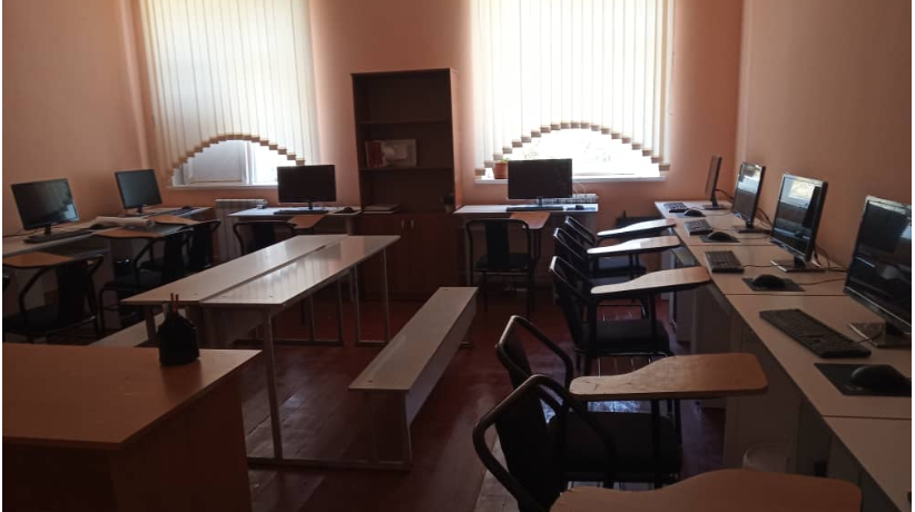 The international medical faculty carried out repair work