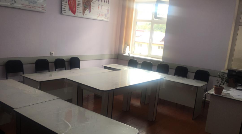 Teachers of the SRS department are provided with classrooms