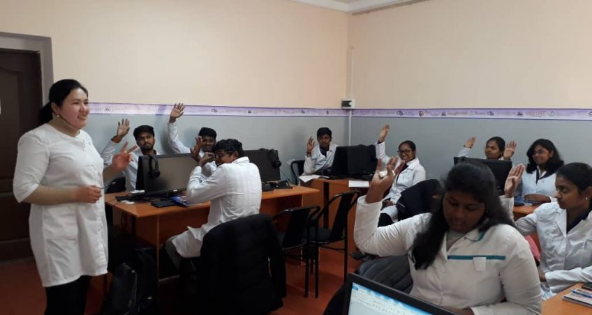Department of SRS, November, 2019: At the Department of SRS, another open lesson.