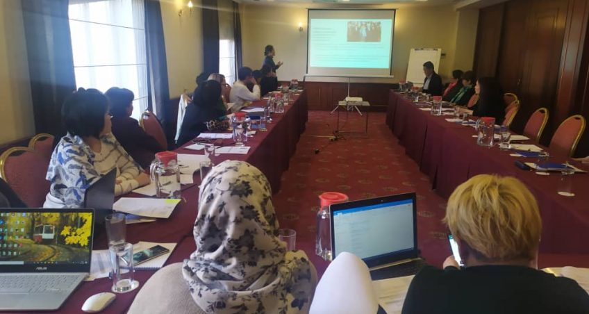 """Training """"Implementation of the functions of the Board of Trustees in order to improve the management of HIV and TB services""""."""